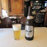 イタリアンハウスドレミ - アサヒビール中瓶2016.05.04