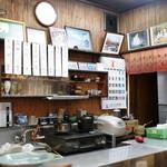 オランダ亭 - 店内、厨房