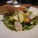 ワイン食堂イナセヤ マーレ - 農園サラダ