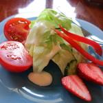 ルドゥーテ - パスタセットのサラダ