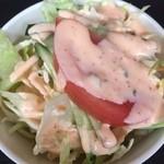 タージマハール - サラダ(ピリ辛)