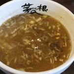 麺屋 茅根 - つけ汁