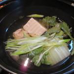味処よし田 - 【鶏つみれ鍋】