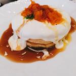 50597714 - ④クリームチーズキャラメルオレンジパンケーキ