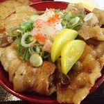にんにく豚丼 京都・西浦 - 特製甘辛豚丼