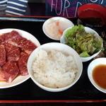 焼肉ドラゴ - ハラミ定食(M)(1380円)