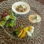 四季彩 MOCCO - 前菜盛り合わせ