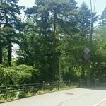 四季彩 MOCCO - お店の前の景色