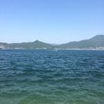 50599431 - 二十四の瞳映画村の海岸沿いから見える海です。