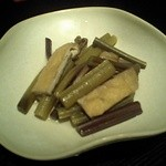 Aterui - 天然山菜の炊き合わせ
