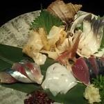 Aterui - 北海鮮 旬のお造り盛り合わせ