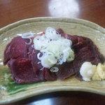 あか塚 - 料理写真:馬刺し