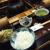 串揚楯己 - 料理写真:サラダ・ご飯・小鉢・味噌汁・香の物