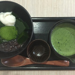 茶の環 - とろける抹茶もちのアフォガード@734