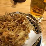 庄吉 - ランチかき揚げ天ぷら300円