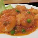 台湾料理 海鮮館 - エビチリ
