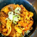 麺道蘭 二戸店 - カルビ丼450円(単品)