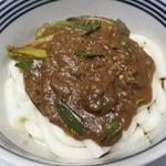みなみ製麺 - 料理写真:2016.05 カレー伊勢うどん
