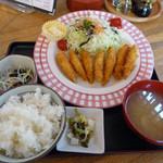 50607439 - ワカサギフライ定食(850円)_2016-04-30
