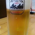 源七商店 - 生ビールはスーパードライ350円