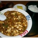 中華れすとらん とらの子 - 料理写真:麻婆豆腐 麻辣感に弱さが・・・