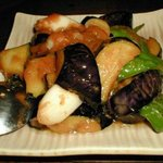 小樽 - ナスの味噌炒め