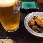 小樽 - 生ビールとつき出し