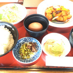 光林飯店 - 料理写真:酢豚定食=1080円→918円 11時〜14時迄のサービス