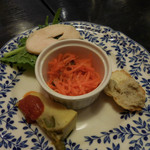 スペインバル Mon-CiRCULO - 前菜の盛り合わせ