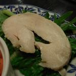 スペインバル Mon-CiRCULO - 鶏肉のスライス