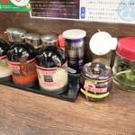 麺屋 武士道 - 卓上調味料