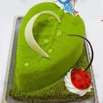 セルフィーユ - 料理写真:ゆずと抹茶のムース ゆずジュレ