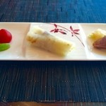 センス - 前菜 酢漬け野菜 北京ダック クラゲと牛スネ