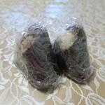 くげぬまライス - 十六穀米ふき味噌と四万十川のり佃煮と茎わさび包装状態