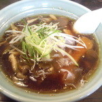 ピッパラの森 - 賞きのこラーメン(醤油) 800円