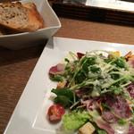 メゾンカイザー - ★★★☆ サラダランチ サラダは普通 パンは美味しい!