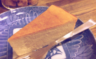 すみだ珈琲 - モカチーズケーキ