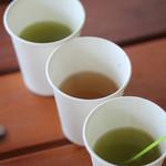 お茶の鴻雪園 - 粉末緑茶、粉末ほうじ茶、粉末玄米茶