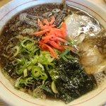 麺堂 香 - こがしブラック:600円