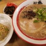 麺堂 香 - 竹セット(+180円)