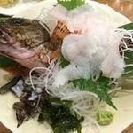 魚魚魚 - 魚魚魚(カサゴの姿造り)