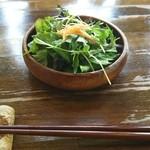 ペスカッペ - プリモランチ  1.058円♪  サラダ♪