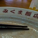50622845 - 食べ終わったお皿