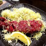 焼肉モランボン - ねぎハラミステーキ