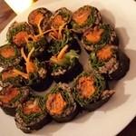 レインボー・ローフード - ロー巻き寿司