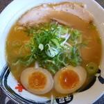 ふくちあん - シンプルラーメン+煮卵(620+100円)