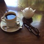 50625288 - コーヒー、御飯食べるのもメガネ必要(^^;;