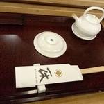 一休寿司 - 七々子塗り     年季入ってきました