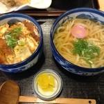 麺工房こうき - カツ丼セット