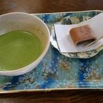 50630509 - 抹茶セット(650円税込)